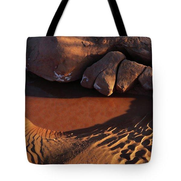 Sand Puddle Tote Bag