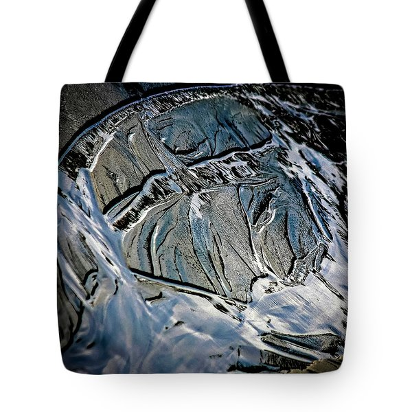 Sand Reflection Tote Bag