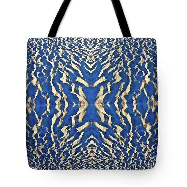Sand Shadow Matrix Tote Bag