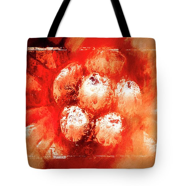 Sand Storm Tote Bag by Carolyn Marshall
