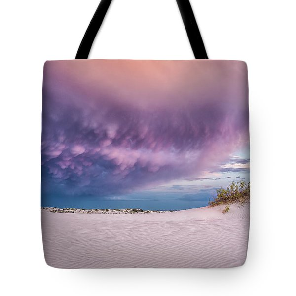 Tote Bag featuring the photograph Sand Storm by Jason Roberts