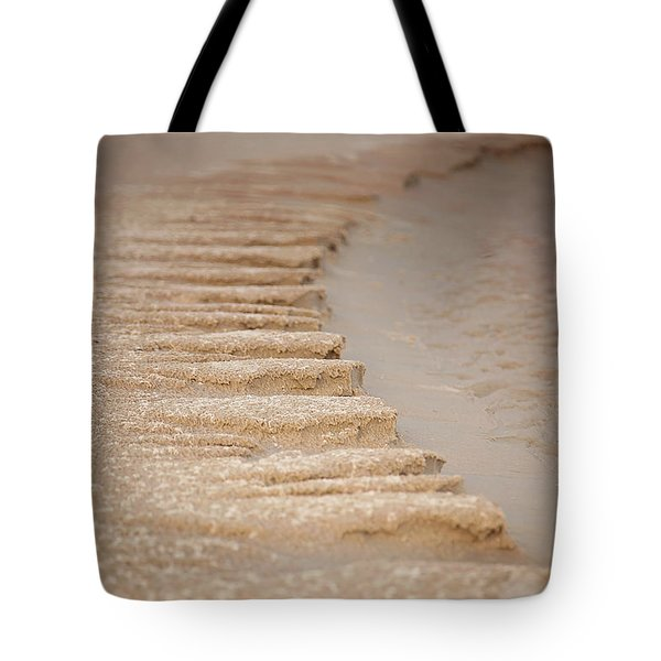 Sand Texture Tote Bag by Sally Simon