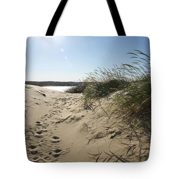 Sand Tracks Tote Bag