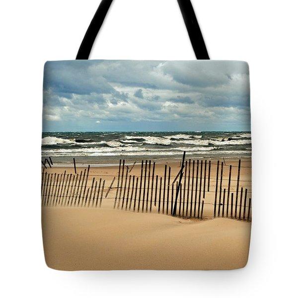 Sandblasted Tote Bag by Michelle Calkins