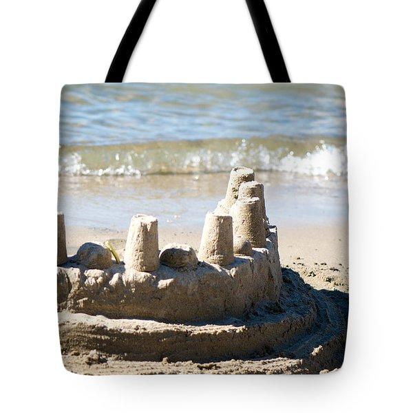 Sandcastle  Tote Bag by Lisa Knechtel