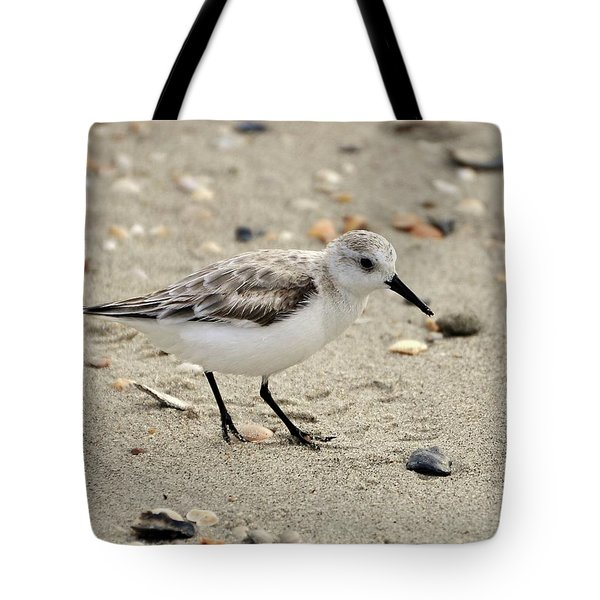 Sanderling Tote Bag by Al Powell Photography USA