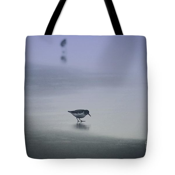 Sanderling Tote Bag by Sheila Ping