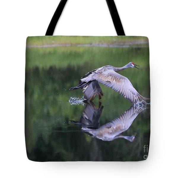 Sandhill Retreat Tote Bag