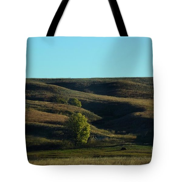 Sandhills Hills Tote Bag by Mark McReynolds