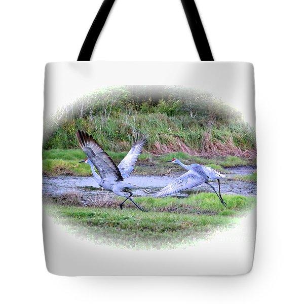 Sandhills - Poetry In Motion Tote Bag