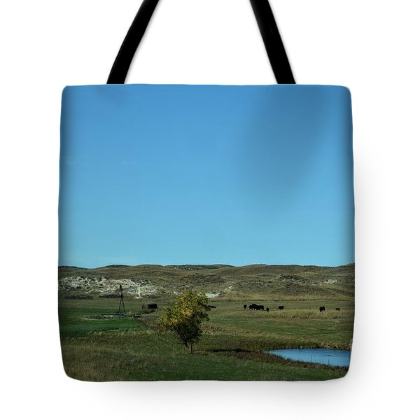 Sandhills Ranch Tote Bag