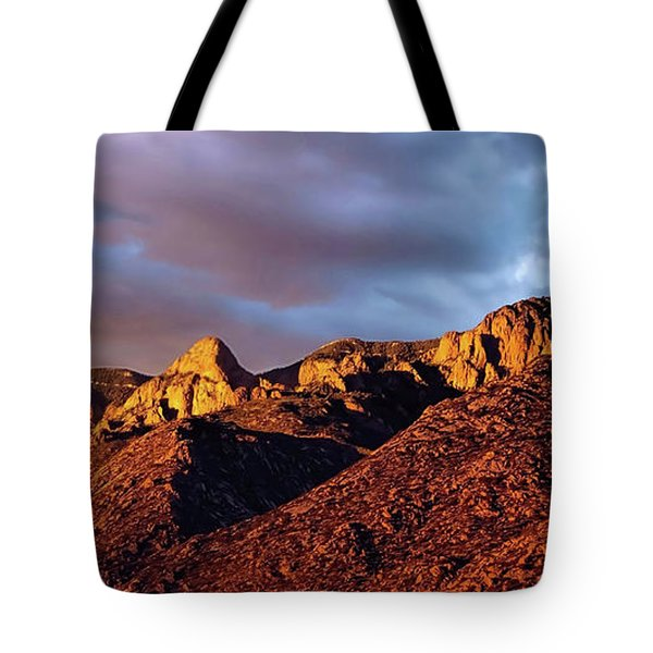 Tote Bag featuring the photograph Sandia Beauty by Gina Savage