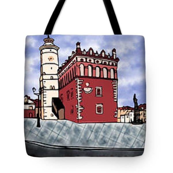 Sandomierz City Tote Bag