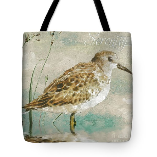 Sandpiper I Tote Bag by Mindy Sommers
