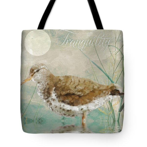 Sandpiper II Tote Bag by Mindy Sommers