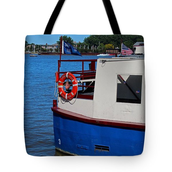 Sandpiper On The Maumee Tote Bag
