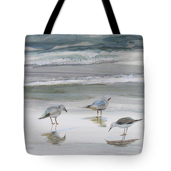 Sandpipers Tote Bag