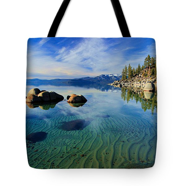 Sands Of Time 2 Tote Bag by Sean Sarsfield