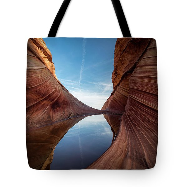 Sandstone And Sky Tote Bag