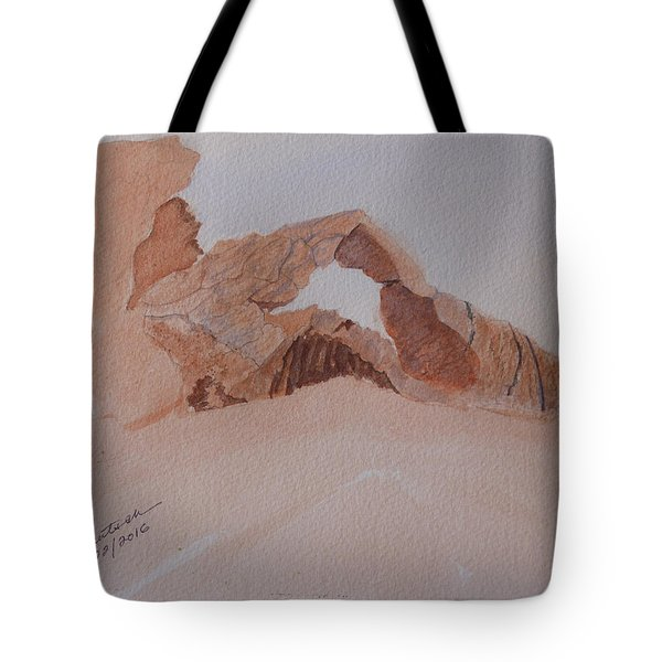Sandstone Arch - Valley Of Fire  Tote Bag