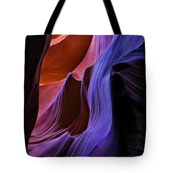 Sandstone Cascade Tote Bag by Mike  Dawson