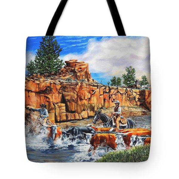 Sandstone Crossing Tote Bag