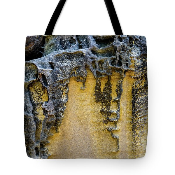 Tote Bag featuring the photograph Sandstone Detail Syd01 by Werner Padarin
