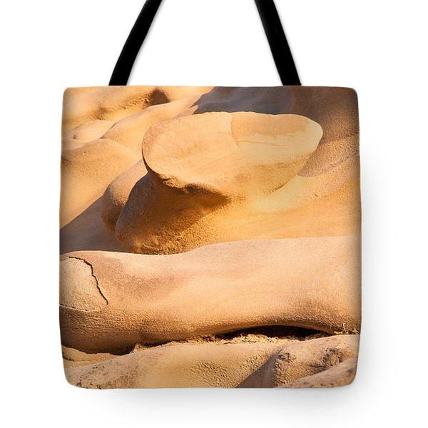 Sandstone Finger Tote Bag