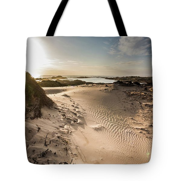 Sandy Beach Haven Tote Bag