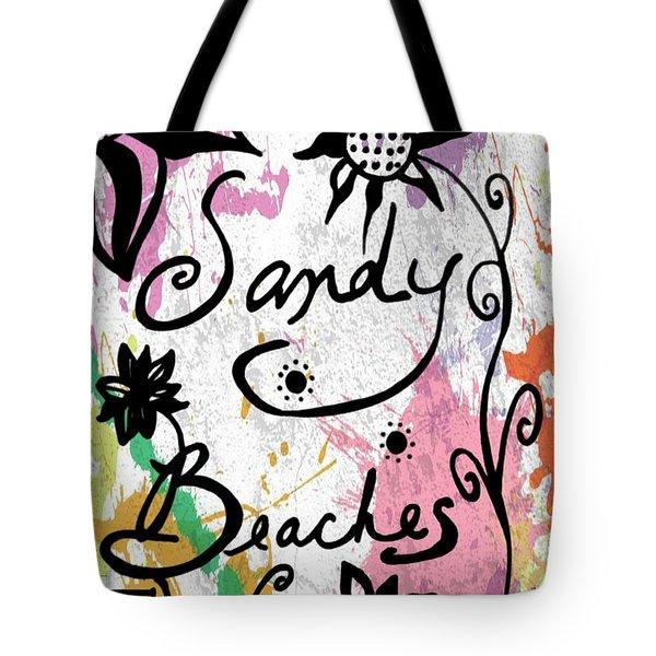 Sandy Beaches Tote Bag