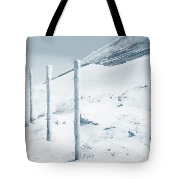 Tote Bag featuring the photograph Sandy Dunes. Series Ethereal Blue by Jenny Rainbow