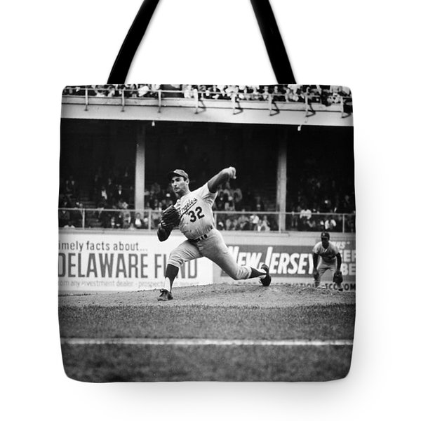 Sandy Koufax (1935- ) Tote Bag