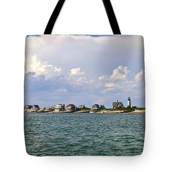 Sandy Neck Cottage Colony Tote Bag