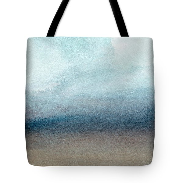 Sandy Shore- Art By Linda Woods Tote Bag