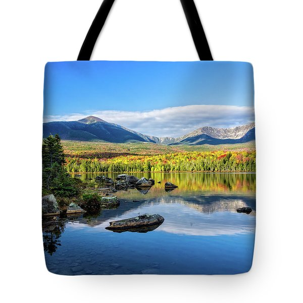Sandy Stream Pond Baxter Sp Maine Tote Bag by Michael Hubley