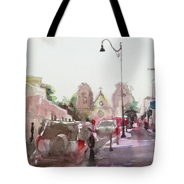 Sanfransisco Street Tote Bag by Becky Kim