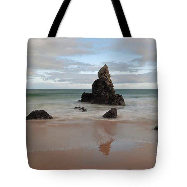 Tote Bag featuring the photograph Sango Bay by Maria Gaellman