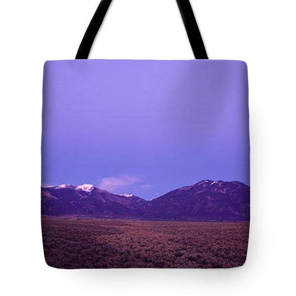 Sangre De Cristo Mountains At Sunset Tote Bag