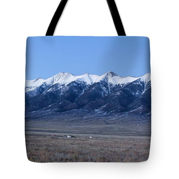 Sangre De Cristo Mountains In Evening Tote Bag