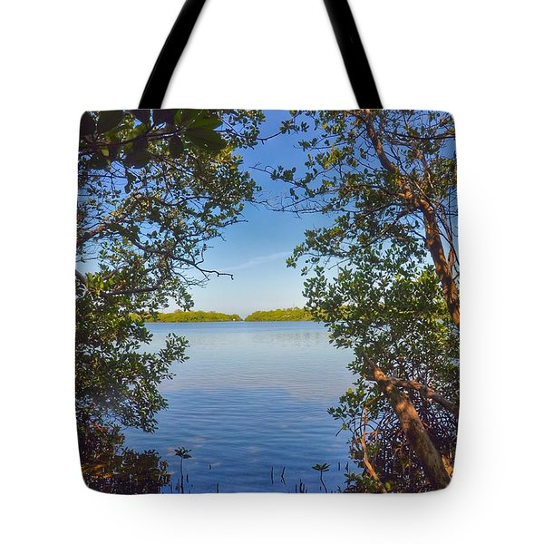 Sanibel Bay View Tote Bag