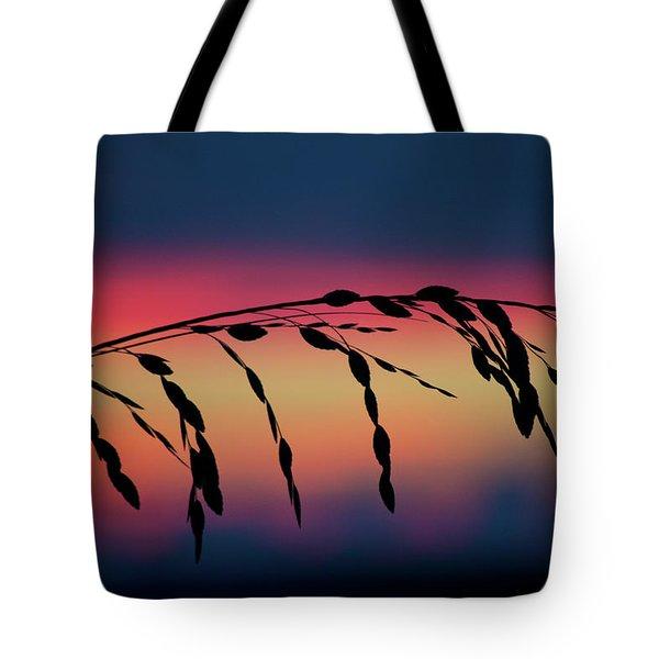 Tote Bag featuring the photograph Sanibel Sea Oats by Melanie Moraga