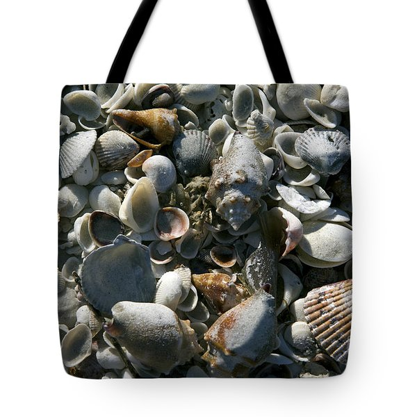 Sanibel Shells Tote Bag by Sandy Molinaro