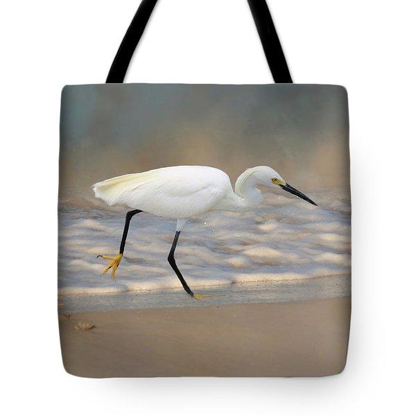 Sanibel Snowy Tote Bag