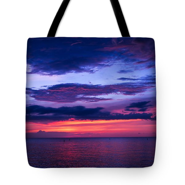 Sanibel Sunset Tote Bag