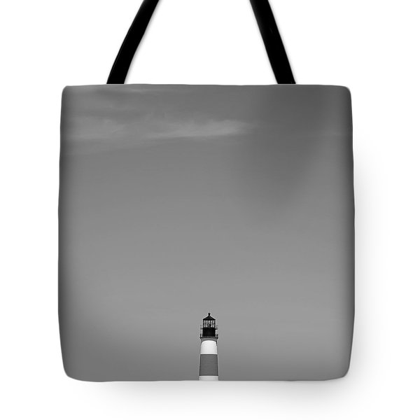 Sankaty Head Lighthouse Nantucket Tote Bag by Charles Harden