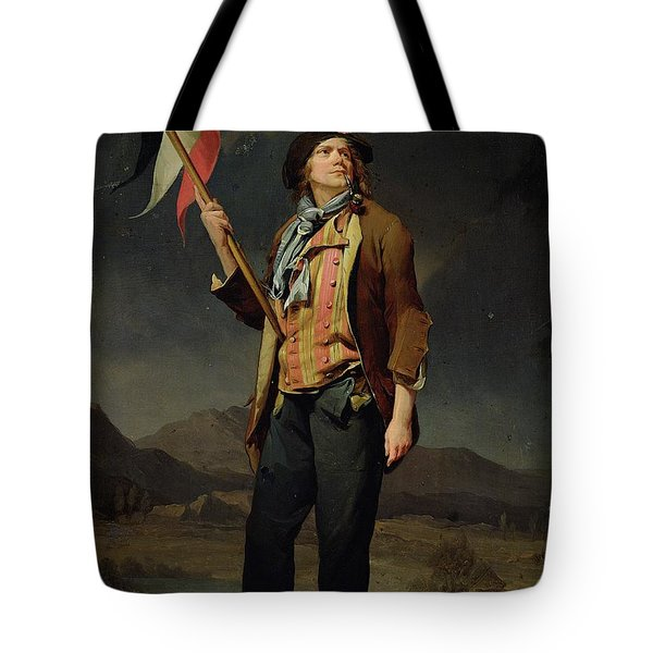 Sans Culotte Tote Bag by Louis Leopold Boilly