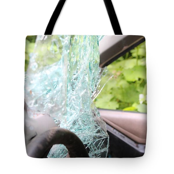 Tote Bag featuring the photograph Sans Rear View by Marie Neder