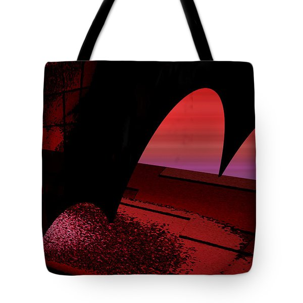Tote Bag featuring the digital art Sans Titre 1310 by Gerlinde Keating - Galleria GK Keating Associates Inc