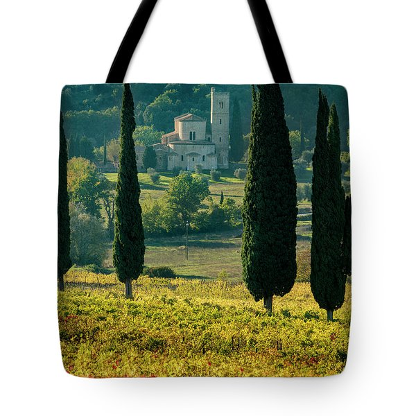 Sant Antimo Tote Bag by Brian Jannsen