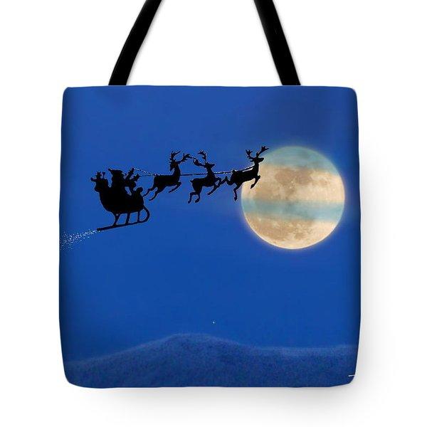 Santa 1 Tote Bag
